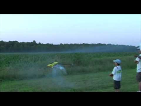 6 year old Justin Jee - CornField Carnage - Crop Circle Attempt - June 6, 2009