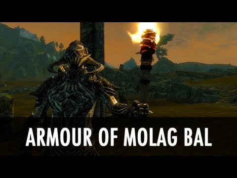 Skyrim Mod Spotlight: Armour of Molag Bal