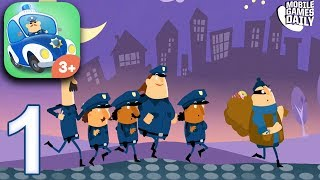 Little Police Station for Kids - ALL Vehicles - Gameplay Part 1 (iOS Android)