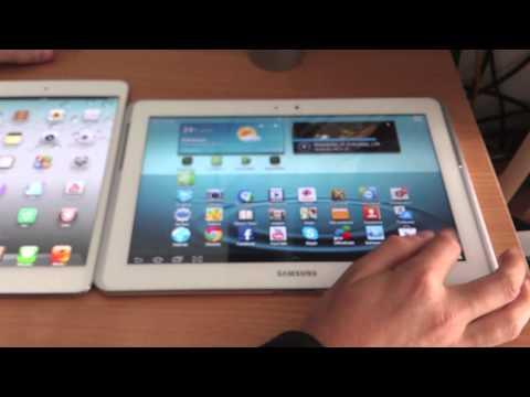iPad mini vs Samsung Galaxy Tab 2 10.1 español