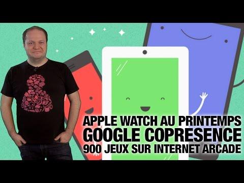 #freshnews 748 Apple Watch. Google Copresence. Internet Arcade