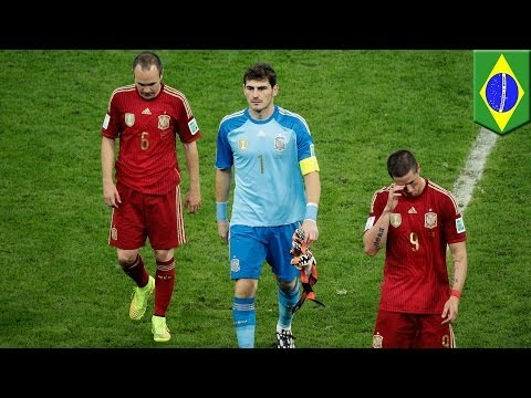 World Cup 2014: Spain out, Suarez leaves England on the brink