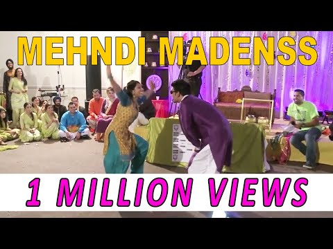Omg Wedding - Mehndi Madness - Bhangra Dance Battles video
