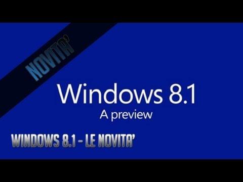 Windows 8.1 - Tutte le Novità