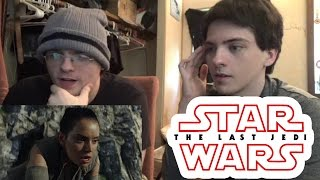 Star Wars - The Last Jedi Teaser Trailer REACTION