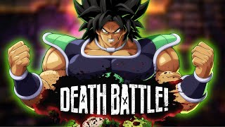 Broly's Power is Maximum in DEATH BATTLE!