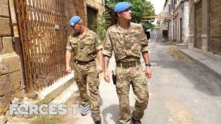 The British Troops Peacekeeping In Cyprus | Forces TV