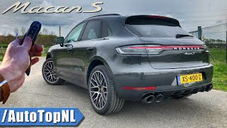 2019 Porsche Macan S REVIEW POV Test Drive on AUTOBAHN & ROAD by AutoTopNL