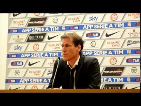 Intervista, Rudi Garcia Roma-Fiorentina 2-0,