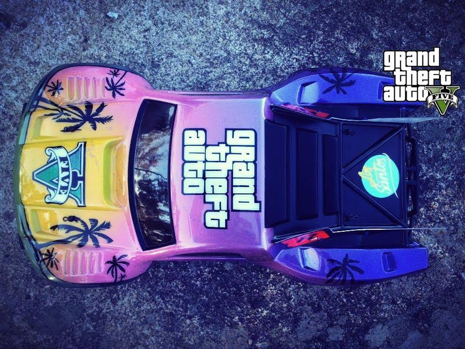 Gta V Rc Car Grand Theft Auto 5 Custom Paint Youtube