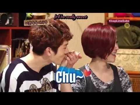 What I Want To Do Once I Have A Lover - G.na & Jo Kwon [eng Sub] Adam Couple Fmv video