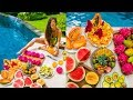 Epic Raw Vegan Breakfast Feast & Dinner Talk