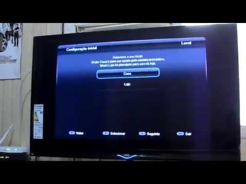 Configuração Inicial - TV LED 39