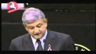 Discurso de AMLO en el desafuero en el 2005.wmv
