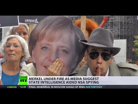 Merkel under fire as media suggest state intelligence aided NSA spying