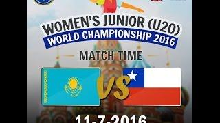Казахстан до 20 : Чили до 20