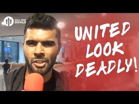 United Look Deadly!   Manchester United 4-0 Everton LIVE REVIEW
