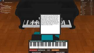 Roblox piano resident evil