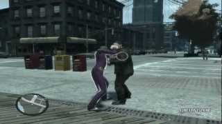 GTA IV Особые комбо атаки/Special attacks