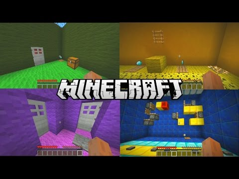 Minecraft Puzzle Map - 25 ROOMS with Vikkstar