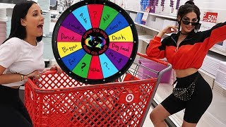 SPIN THE MYSTERY WHEEL Challenge In TARGET (1 SPIN = 1 DARE)
