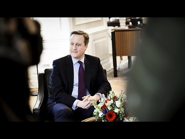 Cameron procura apoios na Europa