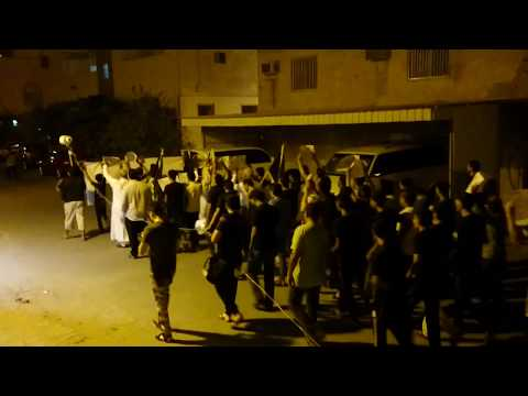 Bahrain :Angry Peaceful demonstrations in sitra island and Police Repression Them (2)