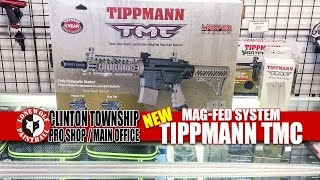 Tippmann TMC Mag-Fed Gun Marker Unboxing Review | Lone Wolf Paintball Michigan