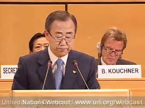 Secretary-General Ban Ki-moon Speech, 2007 Global Compact Leaders Summit