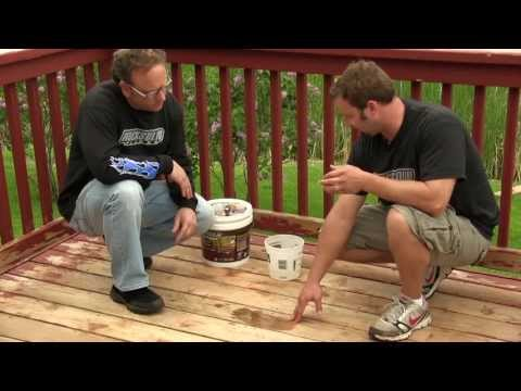 How to Prepare Your Deck For Rocksolid Color Stain or Restoration