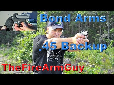 Bond Arms Backup .45acp - Ultimate Conceal Carry Derringer - TheFireArmGuy