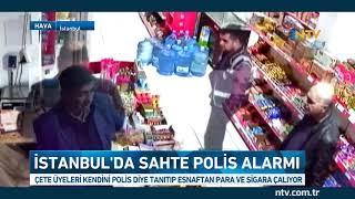 İstanbul'da sahte polis alarmı