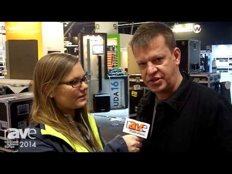 ISE 2014: Molly Talks with James of Martin Audio