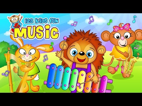 123 Kids Fun MUSIC - Kids Music Educational Games APK Cover