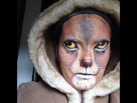 Painting Realistic Faces Realistic Lion Face Paint