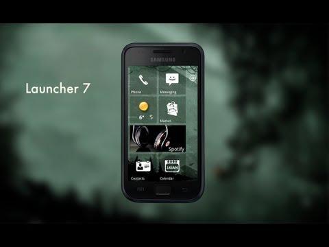 Las mejores aplicaciones android + Launcher 7