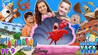 DISNEY'S ART OF ANIMATION RESORT TOUR! Finding Nemo, Little Mermaid & Cars HOTEL! FUNnel Summer