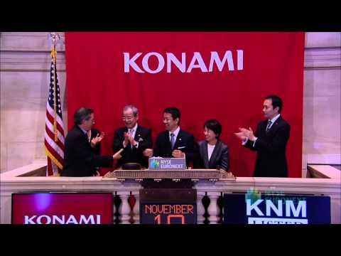 Konami Corporation Celebrates 10th Anniversary of Listing