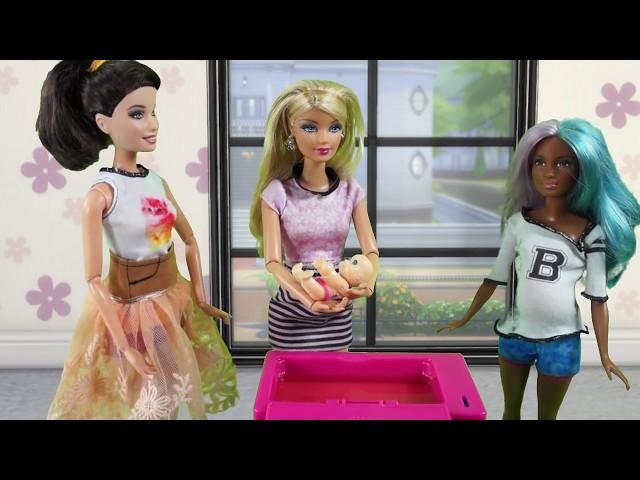 Rodzinka Barbie - Szkoła rodzenia. Bajka dla dzieci po polsku