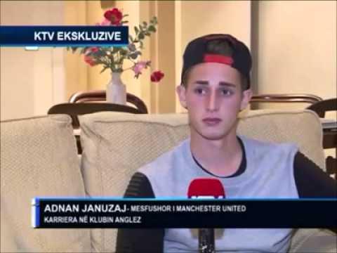 Adnan Januzaj Intervista 2013 KTV INTERAKTIV