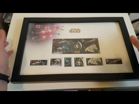 Star Wars X Wing Bundle - Royal Mail Briefmaken Unboxing