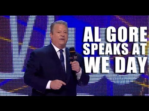 Former Vice President Al Gore at We Day: The Will To Act