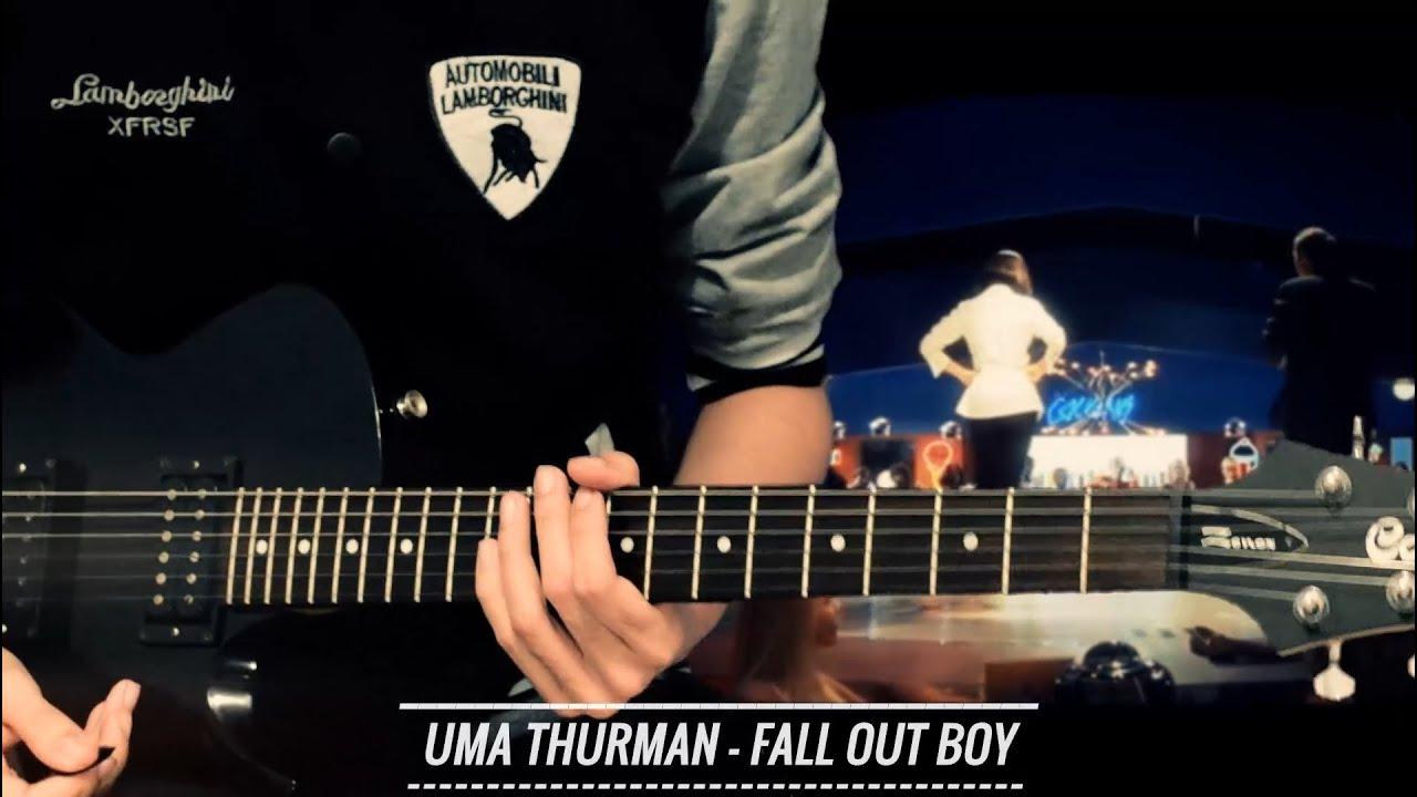 Uma thurman guitar chords