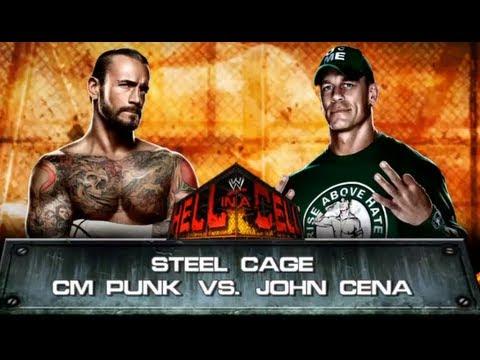 WWE 13: CM Punk vs. John Cena - Steel Cage Match