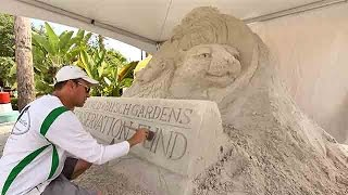 How To Build An Extreme Sand Castle