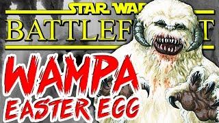 Star Wars Battlefront: WAMPA 2-PART EASTER EGG! | Chaos