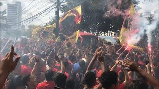 Avenida Rubro-Negra / Torcida Jovem do Sport / Sport 0x1 Flamengo