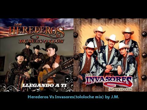 Herederos Vs Invasores(tololoche mix).wmv