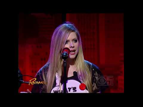 Avril Lavigne - Wish You Were Here   Live With  Rachael Ray Show video