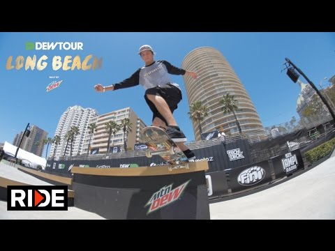 Dew Tour Long Beach 2016 - Practice